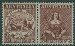 AUS SG239a Centenary of Adhesive Stamps horizontal pair